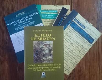 """""""Los archiveros somos """"facilitadores"""" del trabajo de los demás"""": Entrevista con Víctor M. Bello Jiménez, archivero y escritor"""