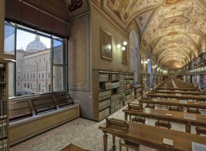 """""""It has been case now for a while that women occupy many positions of authority in the Library"""": Interview with Raffaella Vincenti Office Head at the Vatican Apostolic Library"""